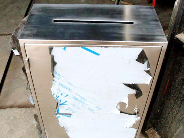 不锈钢投票箱